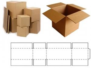 """Caixas de Papelão Ondulado - Tipo """"Maleta"""""""